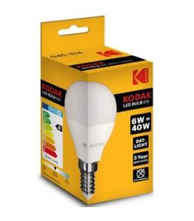 Bombilla LED KODAK - G45 E14 6W 480 lumens