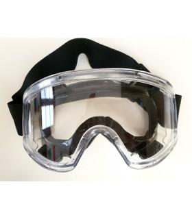 Gafas de trabajo protectoras contra salpicaduras transparentes