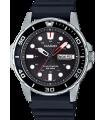 Reloj Buceo Hombre Casio SOLAR MTP-S110-1AV correa goma