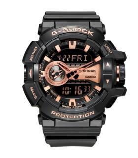 Reloj Hombre Casio G-Shock  GA-400GB-1A4 Resistencia Magnética 5 alarmas