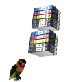 copy of Tinta Negra compatible para Epson 502XL 502 XP-5100 XP-5105 XP-5115 WF-2800 WF-2860 WF-2865