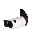 Brother DK11207 - Etiquetas Precortadas Circulares para CD/DVD - 58 mm Diametro - 100UDS - negro sobre blanco
