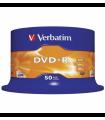 DVD-R 16X VERBATIM AZO EN TARRINA 50 UDS