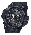reloj deportivo hombre CASIO MCW-100H-1A3 CRONO 100M correa de goma