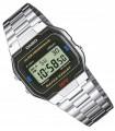 Reloj Digital CASIO A163WA-1Q VINTAGE ICONIC Correa De Acero Inoxidable