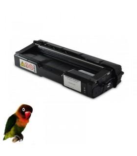 Toner NEGRO para Ricoh Aficio Color SP C220/SP C221 /SP C222 compatible