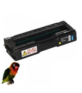 Toner CIAN para Ricoh Aficio Color SP C220/SP C221 /SP C222 compatible