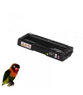 Toner MAGENTA para Ricoh Aficio Color SP C220/SP C221 /SP C222 compatible
