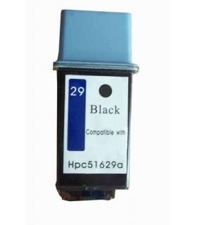 HP 29 NEGRO  cartucho de tinta compatible negro 51629A
