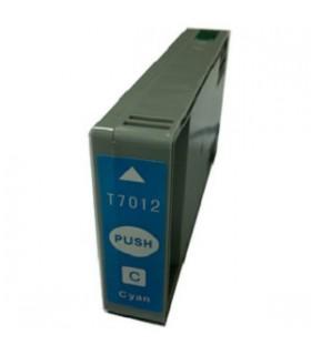 T7071 EPSON CIAN Cartucho Compatible EPSON T7012 CIAN WORKFORCE PRO/WP4000 SERIE/WP4500 SERIE/4525DNF/4015DN