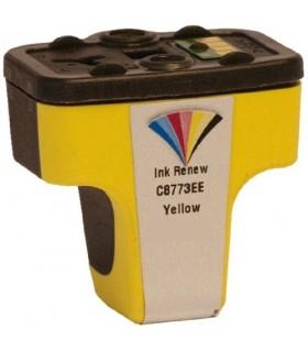 HP 363 XL AMARILLO Cartucho de tinta compatible amarillo para impresora hp 363 (C8773E) 13ML.