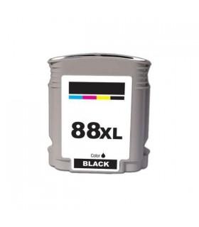 HP 88XL NEGRO Cartucho de tinta para impresora hp 88XL negro compatible officejet pro series 69 ml. C9396A