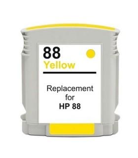 HP 88XL AMARILLO Cartucho de tinta para impresora hp 88XL AMARILLO compatible officejet pro series 28 ml. C9393A
