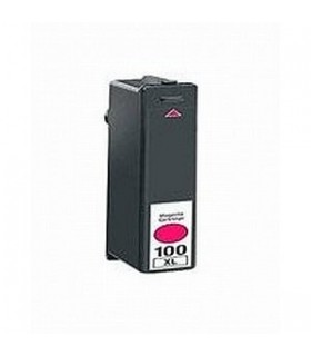 LEXMARK 100XL MAGENTA cartucho compatible LEXMARK Nº100XL MAGENTA 12,5ML.S305/405/505/605 PRO/205/705/805/905