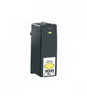LEXMARK 100XL AMARILLO cartucho compatible LEXMARK Nº100XL 12,5ML.S305/405/505/605 PRO/205/705/805/905