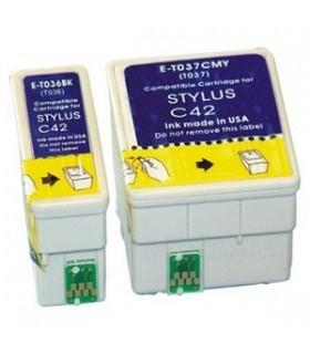 epson c42-c44-c46 t036+t037pack cartuchos compatibles