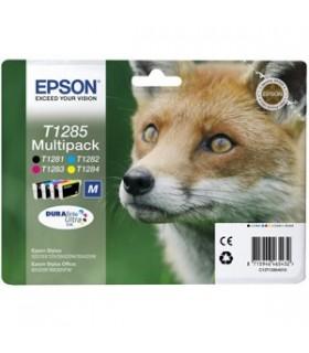 Original t1285 multipack cartuchos tinta epson t1285 (t1281 + t1282 + t1283 + t1284) 3.5 ml