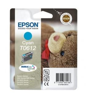 Epson T0612 cartucho original cián
