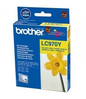 cartucho original amarillo Brother lc970y