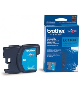 cartucho cián original Brother LC1100C