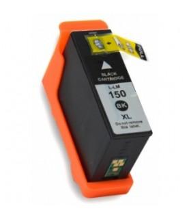 LEXMARK 150XL NEGRO Cartucho alta capacidad Negro compatible Lexmark 150xl bk