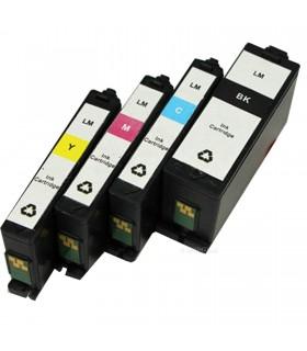 LEXMARK 150XL pack 4 cartuchos compatibles alta capacidad Lexmark 150xl (bk-c-m-y)