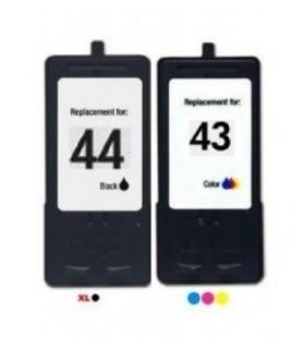 pack compatibles Lexmark 44xl + Lexmark 43xl