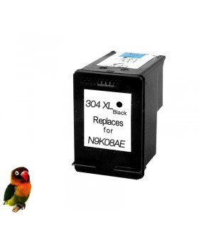 304XL NEGRO DeskJet 3720 3730 3732 tinta compatible alta capacidad