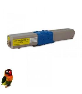 OKI C301 / C321 / MC332 / MC342 AMARILLO toner compatible