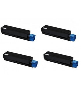 pack 4 tóner compatible OKI B410/B420/B430/B440/MB460L/470/480 3500C.