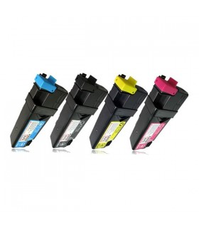 pack 4 Toner Compatibles (bk-c-m-y) Dell 2130-2135 2500 pags
