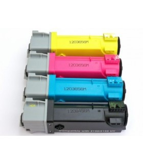 DELL 2150 / 2155 pack 4 Toner Compatibles (bk-c-m-y)