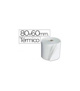 pack 8 Rollos de Papel Termico 80x60mm