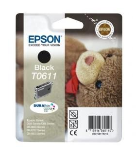 Epson T0611 cartucho negro original