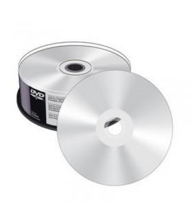 MEDIARANGE DVD-R 8X FULL PRINTABLE PLATA (SILVER) tarrina 25