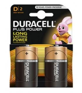 Pilas DURACELL plus POWER alcalinas LR20