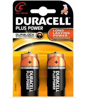 pack Pilas duracell plus alcalina lr14