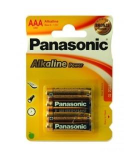 panasonic blister 4 pilas alcalinas lr3 (aaa)
