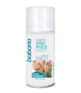 BABARIA DESODORANTE SPRAY PARA PIES 150ML