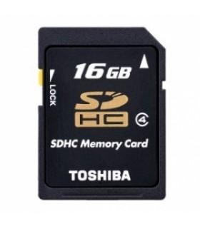 Tarjeta SDHC 16GB Clase 4 Toshiba SD-K16GJ(6