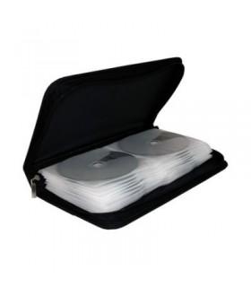 Archivador Nylon Mediarange 48 CD/DVD