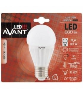 LED AVANT - BOMBILLA A55 E27 9W 6500K