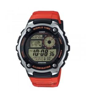 Reloj Casio World Time AE-2100W-4A HOMBRE