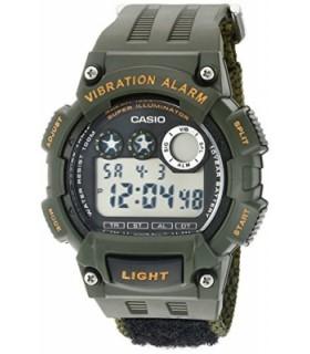 reloj hombre Casio W-735HB-3A deportivo correa de tela