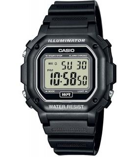 reloj Casio F108WH-1A Luz Led - Cronómetro - Alarma