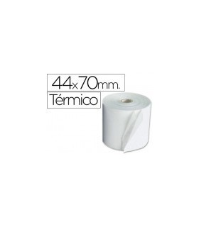 pack 10 Rollos de Papel Termico 44x70mm