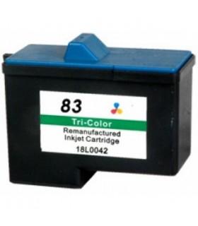 Lexmark 83 color cartucho tinta compatible