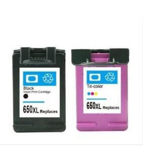 650XL PACK deskjet Ink Advantage 1015 / 1515 / 2515 / 2545 / 2645 / 3515 / 4645