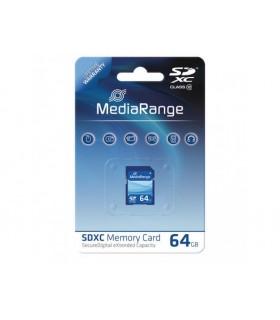 Mediarange Tarjeta SDXC 64GB Clase 10