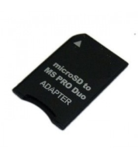 Adaptador de Tarjetas MicroSD a Memory Stick Pro Duo